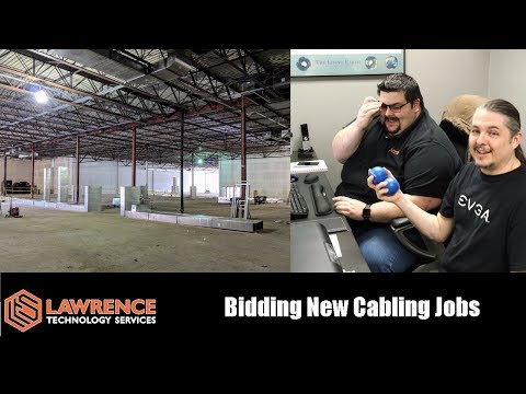 How To Bid  How We Bid Structured Cabling Jobs at Lawrence Systems
