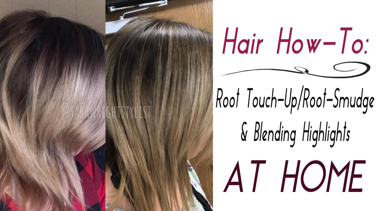 AT HOME Root Touch UpRoot Smudge Amp Quick Highlights