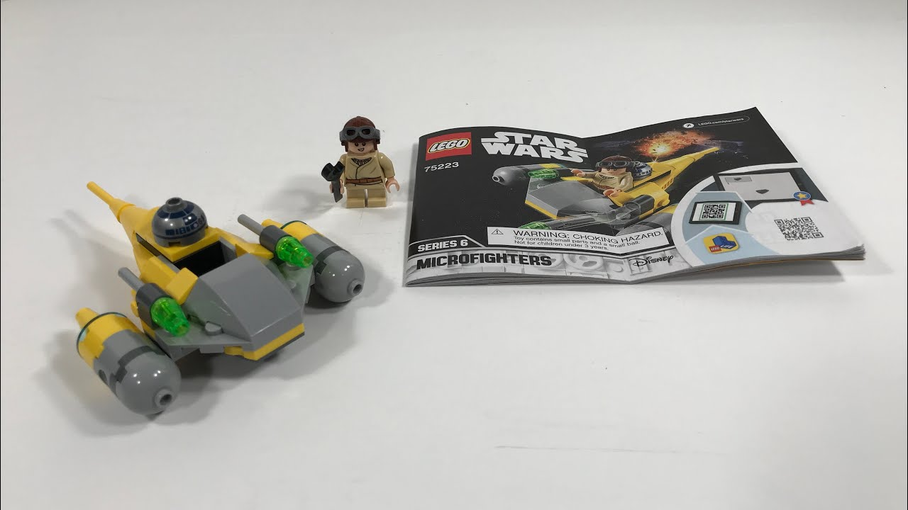LEGO Star Wars Microfighters Series 6 Naboo Starfighter Set