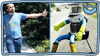 Can My Clone Hitchhike Better Than HitchBOT?