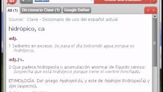 Definición de hidrópico