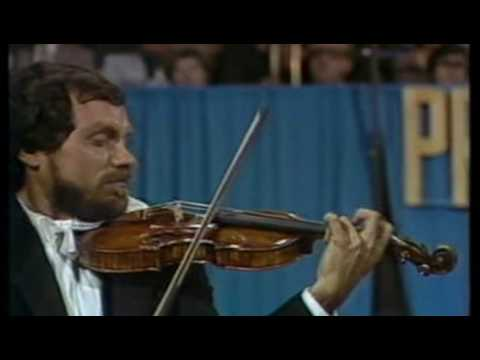 Eugene Fodor - Paganini Violin Concerto no 1 - (part 2 of 4)