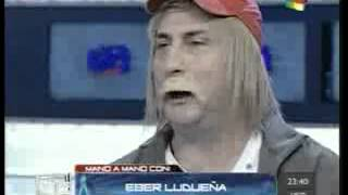 Fantino lloró de risa con Heber Ludueña