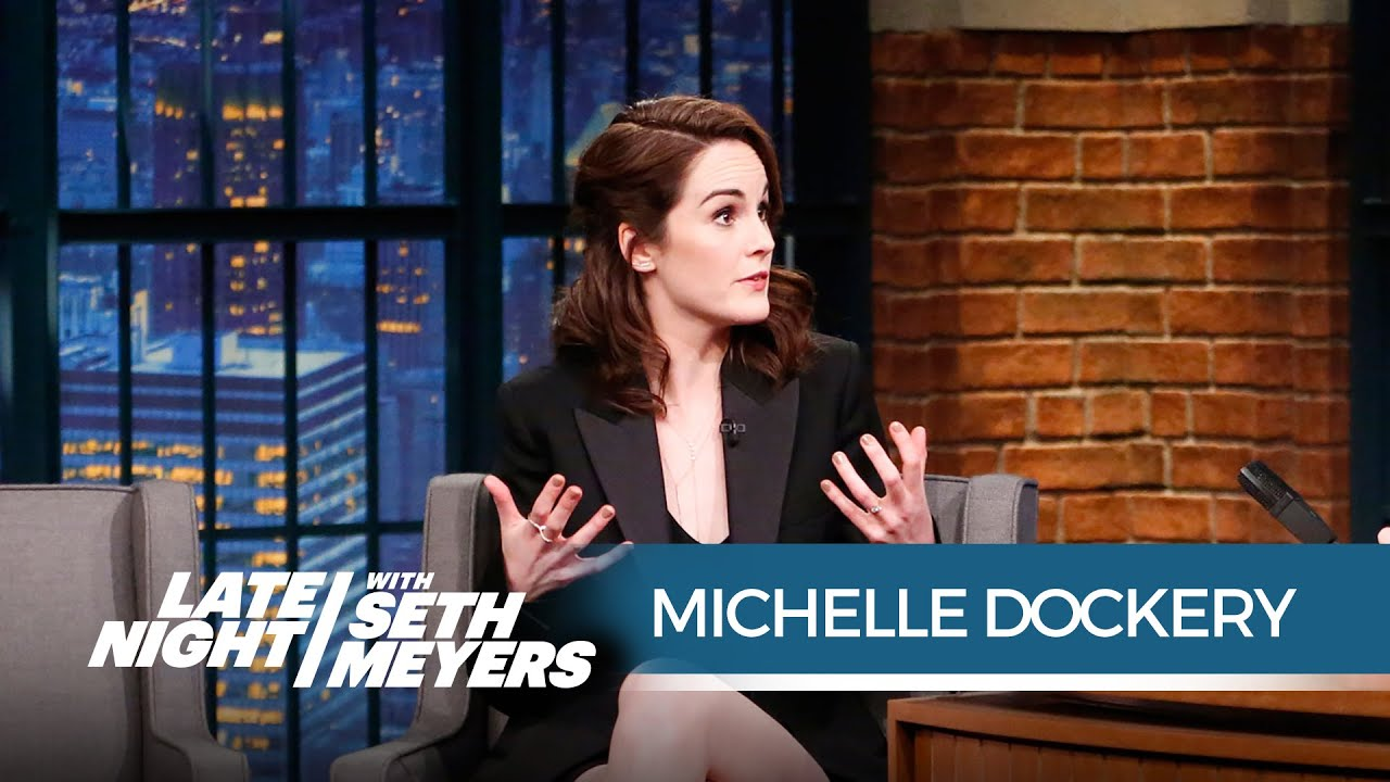 Download Michelle Dockery on the End of Downton Abbey - Late Night with Seth Meyers