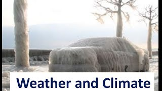 Weather And Climate Difference ,elements -video Lesson For Kids