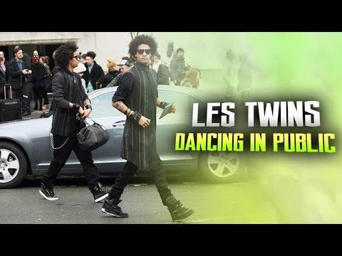 LES TWINS   DANCING IN PUBLIC