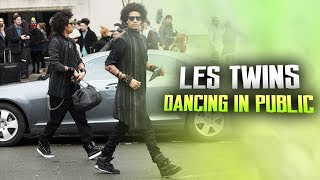 les twins dancing in public