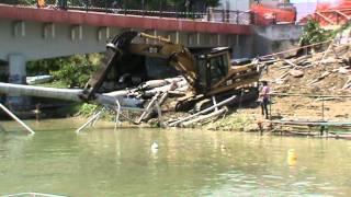 caterpillar heavy equipment scrap shears demolition