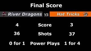 Danbury Hat Tricks vs Columbus River Dragons 2-21-20