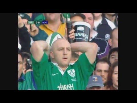 Ireland Vs Scotland Rugby 2000