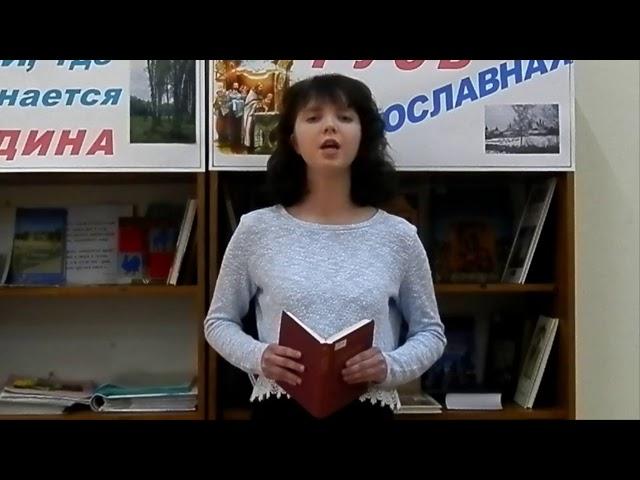 Изображение предпросмотра прочтения – АннаДемидова читает произведение «Попытка ревности» М.И.Цветаевой