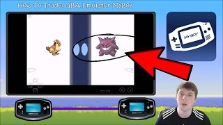 How To Trade Pokemon In GBA Emulator MyBoy Leaf Green and Fire Red Example