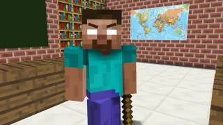 Monster School  The Mobs Caught the Teacher Dancing in the Classroom   Minecraft