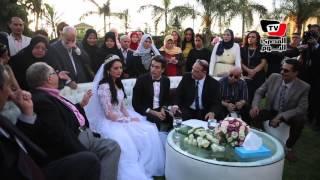 «الفخراني» يشهد علي عقد قران «محمد محسن وهبة مجدي»