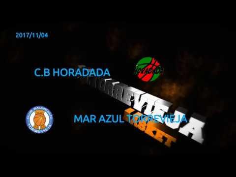 2017/11/04 Cb Horadada-Mar Azul Torrevija