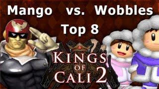 KoC2 - Mango (Captain Falcon) Vs. Wobbles (Ice Climbers) Melee Singles Grand Finals - SSBM - SSBM