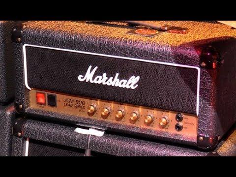NAMM '19 - Marshall Studio Classic (JCM800 2203) and Studio