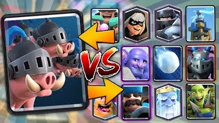 NEW ROYAL HOGS vs ALL CARDS!! | Clash Royale | NEW ROYAL HOG GAMEPLAY & BEST COUNTERS!