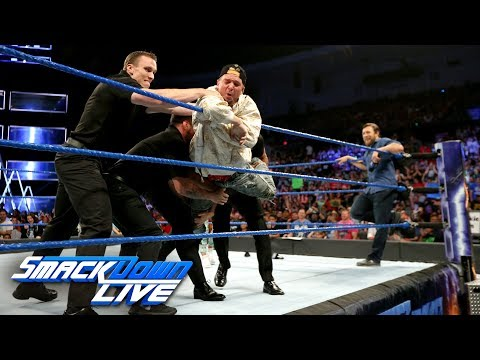 Thumbnail: James Ellsworth is banned from the arena: SmackDown LIVE, June 27, 2017
