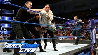 James Ellsworth is banned from the aren...