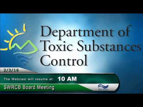 SWRCB Board Meeting - February 3, 2016