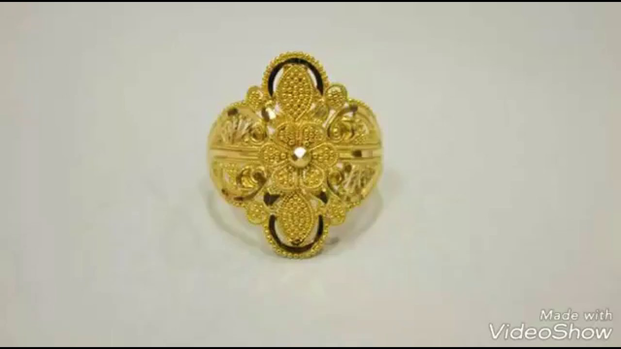 Pure Gold Finger Rings Simple Daily Wear Designs - YouTube