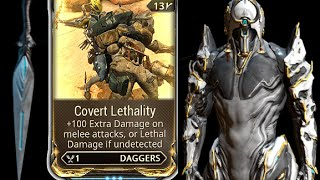 Warframe Covert Lethality with Ash Prime & Dark dagger U17.1.5
