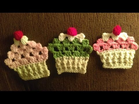 How to Crochet Cupcake Granny with FPDC and BPDC