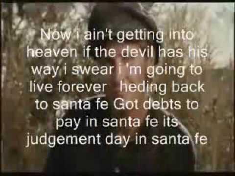 bon jovi santa fe with lyrics