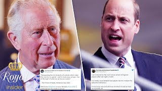 Princes Charles & William strongly condemn the racism following Euro 2020 final   Royal Insider