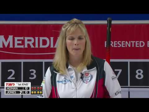 Jennifer Jones vs. Rachel Homan - 2016 Home Hardware Canada Cup of Curling (Draw 9)