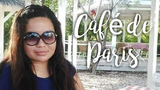 Café de Paris in Anguilla… Great French Dining