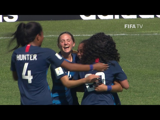 GOAL OF THE TOURNAMENT - NOMINEE - SUNSHINE FONTES (USA)
