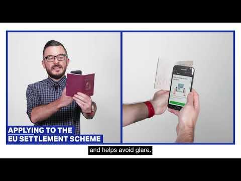 EU Settlement Scheme App Top Tips