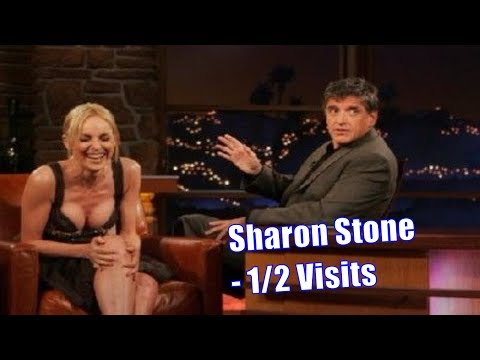 Sharon Stone On Craig Ferguson - They Went On One Date - 1/2 Appearances