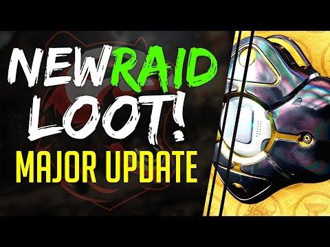 Destiny 2 January 30 Update NEW RAID LOOT & ARMOR PERKS, Raid Exotic Ghost, MasterWork, Iron Banner