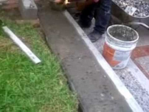Constru luis escalon de piedra lavada youtube for Donde venden granito
