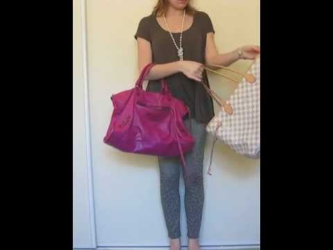 9e654d0aa8 Comparison between Balenciaga Velo and Balenciaga Work Bags