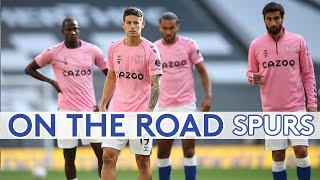 ON THE ROAD: SPURS | BEHIND THE SCENES AT TOTTENHAM AS TRIO MAKE EVERTON DEBUTS
