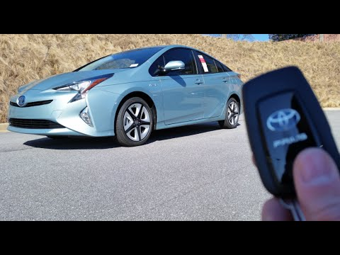 2016 Toyota Prius 3 Touring Start Up Test Drive And Review