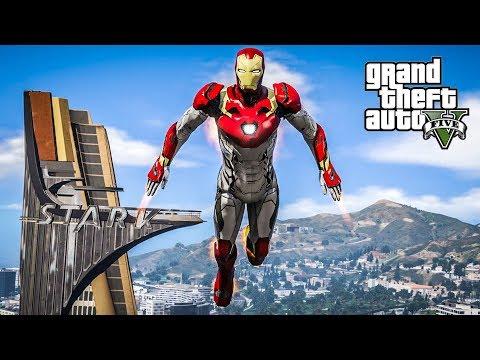 โคตรคนเกราะเหล็กอัพเกรด !!! (Iron Man 2.0 MOD GTA5)