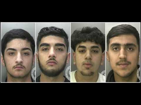 Birmingham Gang Shooting On Camera Jailed for 60 Years #StreetNews