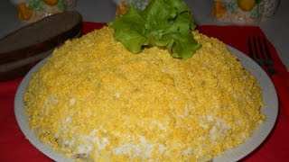 Как приготовить салат Мимоза. Вкусно и универсально. Рецепт салата.