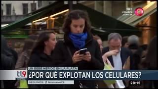 ¿Por qué explotan los celulares?