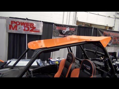 Polaris RZR 1000XP Roof install tutorial!  PowerModz!