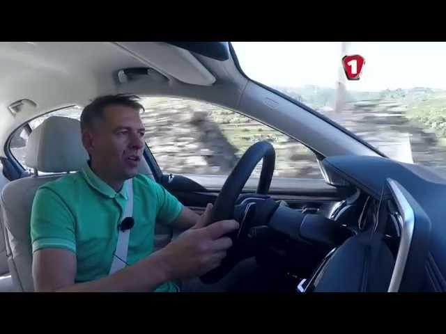 """""""Первый тест"""" Тест-драйв нового BMW 7 серии 2015"""