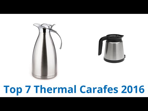 7 Best Thermal Carafes 2016