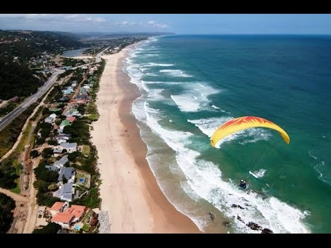 Paragliding at Dolphin Point - Wilderness, Garden Route,  South Africa