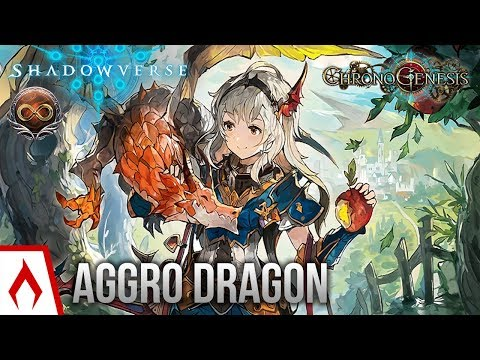 [Shadowverse] I'm ALIVE! - Unlimited Aggro Dragoncraft Deck Gameplay