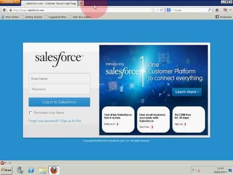 Connect SQL Server to Salesforce via ODBC